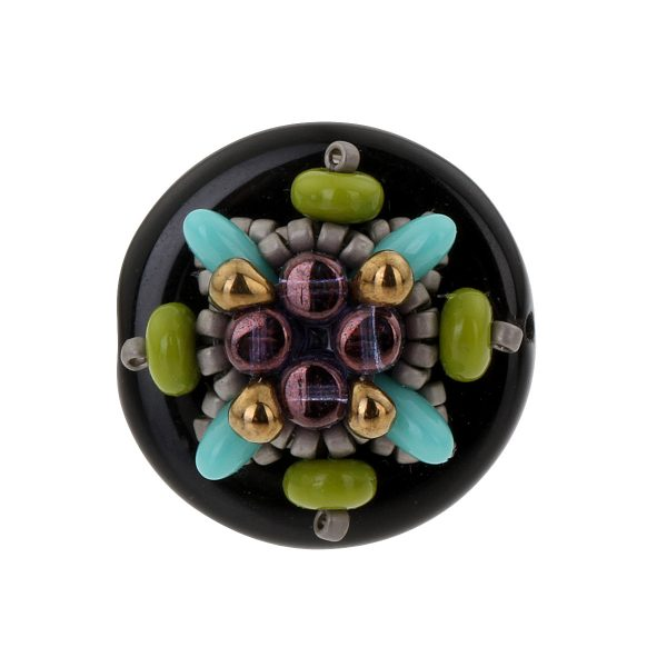 Prague_ring_storytelling_jeweller_beadwork_tutorials_black_turquoise_1b_TRANS