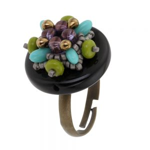 Prague_ring_storytelling_jeweller_beadwork_tutorials_black_turquoise_1b_TRANS_1000pix