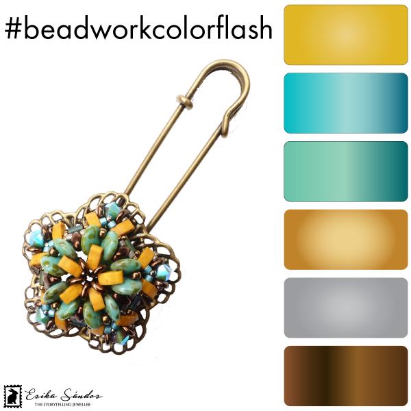 #beadworkcolorflash Caipirinha