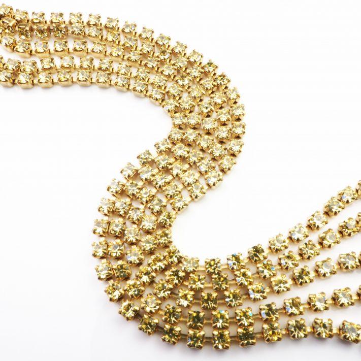 jonquil rhinestone chain