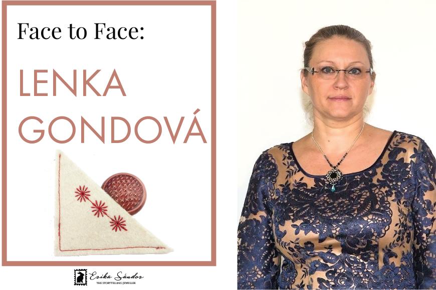 Face to face: meet Lenka Gondová!