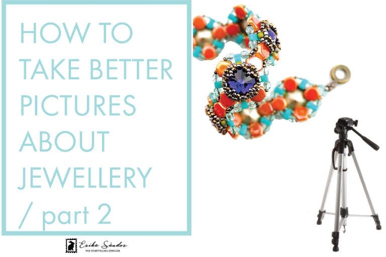 how to take better pictures about jewellery