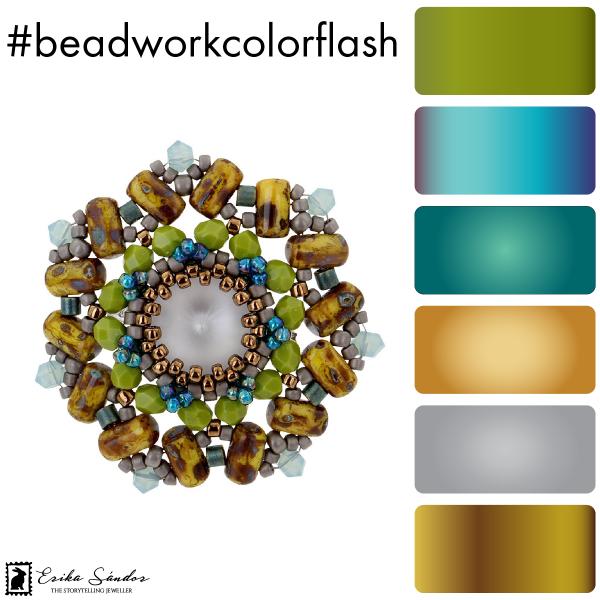 #beadworkcolorflash Caleidoscope