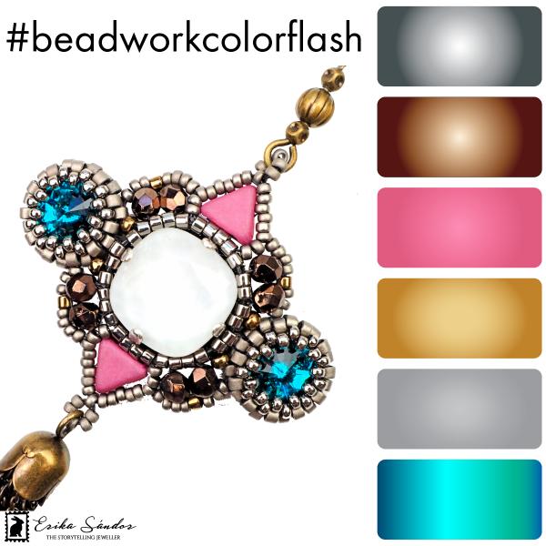 #beadworkcolorflash Cassandre