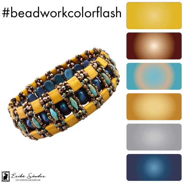 #beadworkcolorflash Charlotte