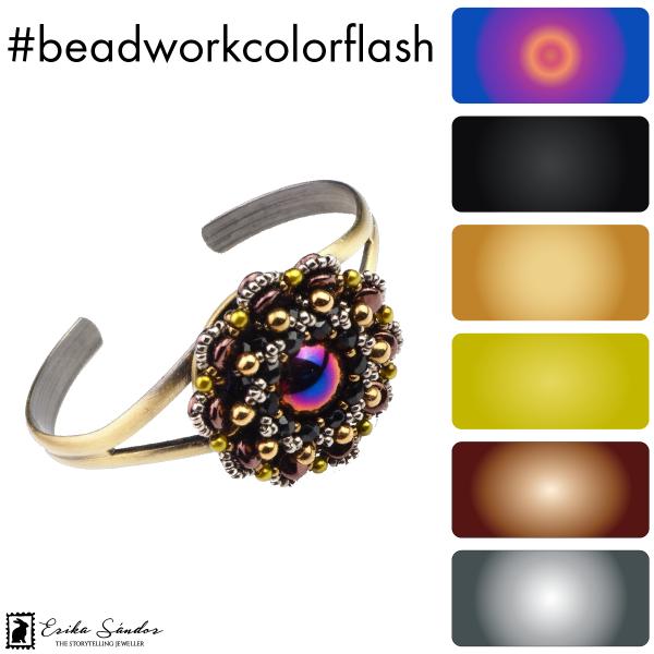 #beadworkcolorflash