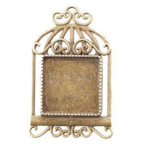 bird cage brooch