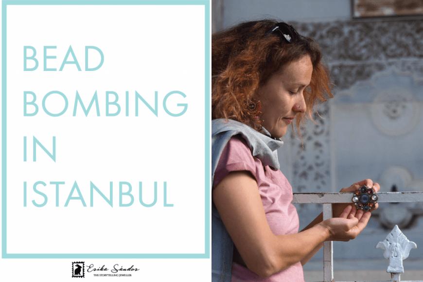 Bead bombing in Istanbul