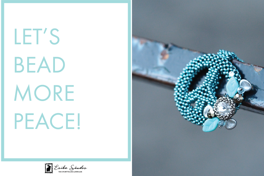 Let's bead more peace!