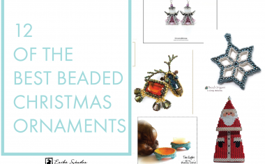 12 of the best beaded Christmas ornaments