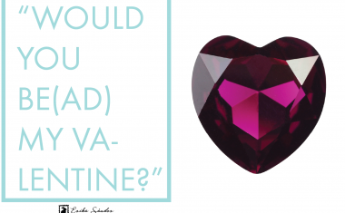 """Would you be(ad) my Valentine?"""