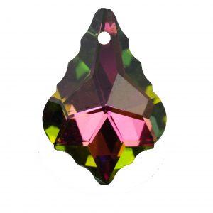 15x22 mm baroque glass pendants