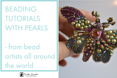 Beading tutorials with pearls – from bead artists all around the world