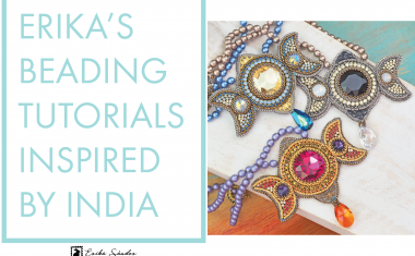 Erika's beading tutorials inspired by India