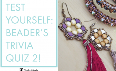 Test yourself with the BEADER'S TRIVIA QUIZ 2!