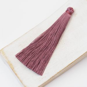 6.5 cm tassel imitiation silk Malve x 1 pc