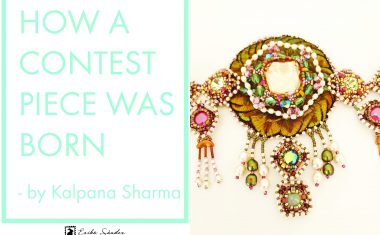 How a contest piece was born? Kamarbandh belt by Kalpana Sharma