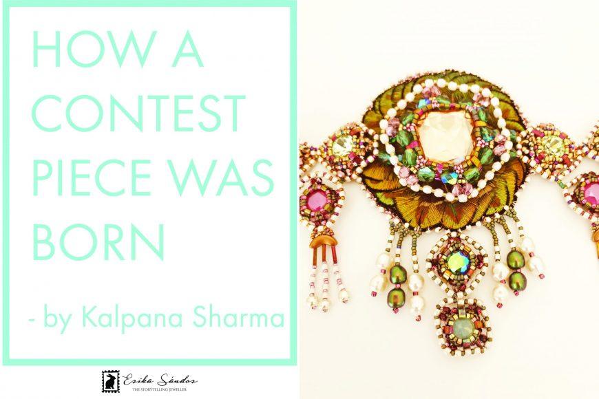 How a contest piece was born? Kamarbandh belt by Kalpana Sharma
