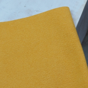 23 x 10 cm Ultrasuede® ST (Soft) for bead embroidery Mustard Yellow x 1 pc