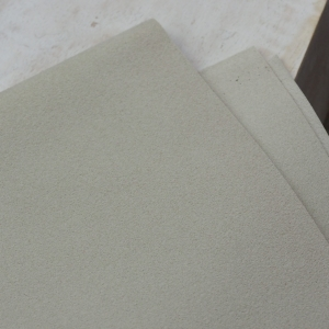 23 x 10 cm Ultrasuede® ST (Soft) for bead embroidery Bone x 1 pc