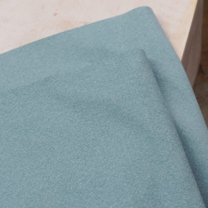 23 x 10 cm Ultrasuede® ST (Soft) for bead embroidery Azure Blue x 1 pc