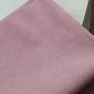 23 x 10 cm Ultrasuede® ST (Soft) for bead embroidery French Rose x 1 pc
