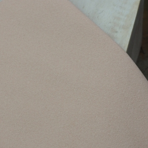 23 x 10 cm Ultrasuede® ST (Soft) for bead embroidery Pale Pink x 1 pc