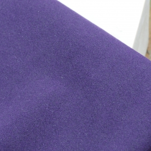 23 x 10 cm Ultrasuede® ST (Soft) for bead embroidery Dark Violet x 1 pc