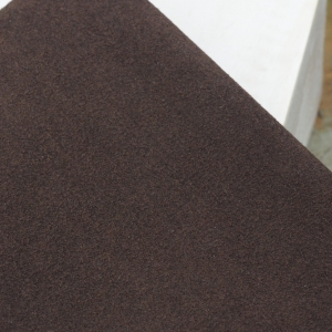 23 x 10 cm Ultrasuede® ST (Soft) for bead embroidery Coffee Bean Brown x 1 pc