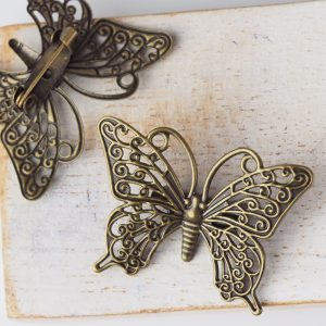 25×35 mm brooch antique bronze x 1 pc(s)