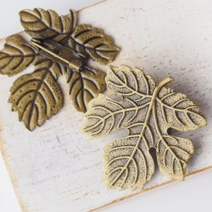 29×32 mm brooch antique bronze x 1 pc(s)