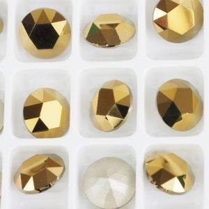 8 mm Preciosa crystal chaton Monte Carlo x 1 pc(s)