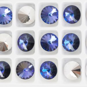 8 mm Preciosa crystal rivoli Crystal Heliotrope x 1 pc(s)