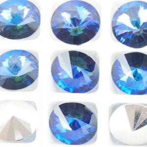 18 mm Preciosa crystal rivoli Crystal Heliotrope x 1 pc(s)