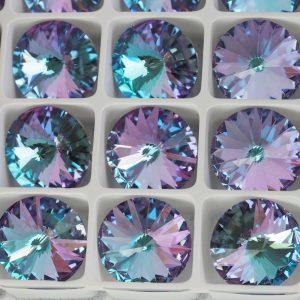 18 mm Preciosa crystal rivoli Crystal Vitrail Light x 1 pc(s)