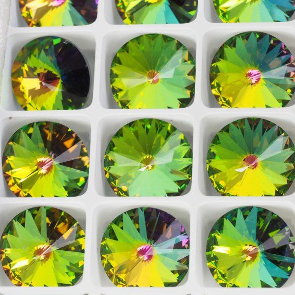 18 mm Preciosa crystal rivoli Crystal Vitrail Medium x 1 pc(s)