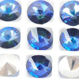 10 mm Preciosa crystal rivoli Crystal Heliotrope x 1 pc(s)
