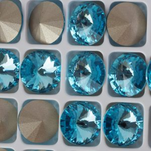 10 mm Preciosa crystal rivoli Aqua Bohemica x 1 pc(s)