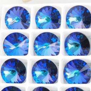 12 mm Preciosa crystal rivoli Crystal Heliotrope x 1 pc(s)