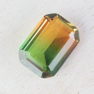 13x18 mm rectangle glass cabochon Falling Leaves Rainbow x 1 pc(s)