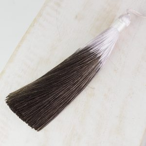 13 cm tassel imitation silk Ombré Brown 1 x pc(s)