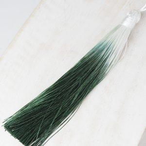 13 cm tassel imitation silk Ombré Dark Green 1 x pc(s)