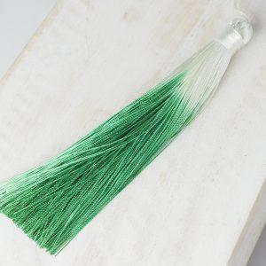 13 cm tassel imitation silk Ombré Grass Green 1 x pc(s)