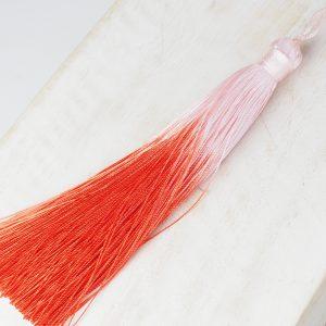 13 cm tassel imitation silk Ombré Light Red 1 x pc(s)