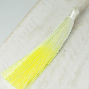 13 cm tassel imitation silk Ombré Light Yellow 1 x pc(s)