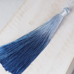 13 cm tassel imitation silk Ombré Night Blue 1 x pc(s)