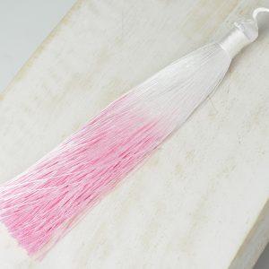13 cm tassel imitation silk Ombré Pink 1 x pc(s)