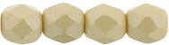4 mm fire polished round beads Powdery Beige x 60 pc(s)