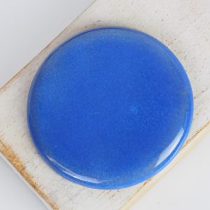 Big Round L2Studio cabochon Summer Blue on light clay x 1 pc(s)