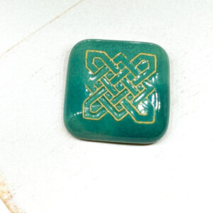 Celtic Square L2Studio cabochon Atlantic on light clay x 1 pc(s)
